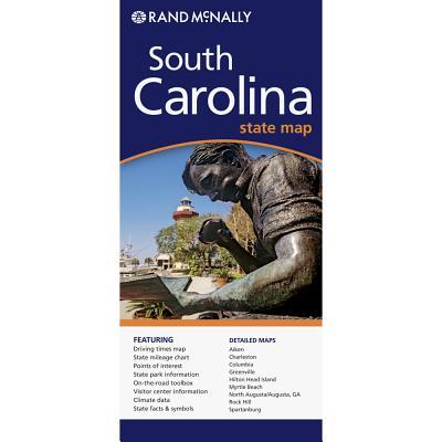 Rand Mcnally South Carolina By Rand McNally and Company (COR)